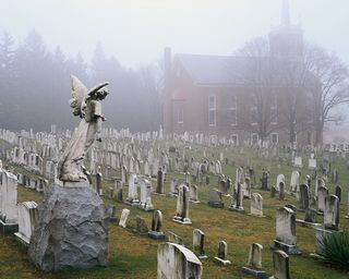 Chruch and cemetary