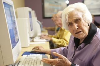 Bigstock-Senior-woman-using-computer-13894766