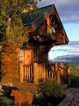 Bigstock-Log-House-Entryway-104795