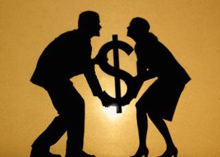 Sharing inherited money