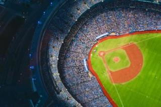 Baseball from sky