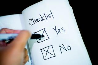 Pexels-photo checklist