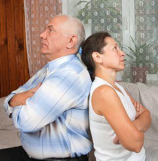 Bigstock-Elderly-Couple-After-Quarrel-10519607