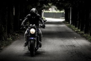 Person-street-dark-bike