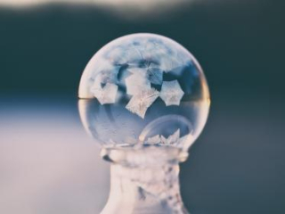 Crystal ball pretty